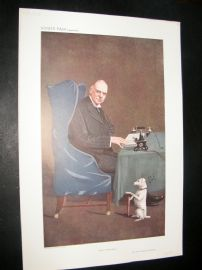 Vanity Fair Print 1910 Stephen Coleridge, Doctor